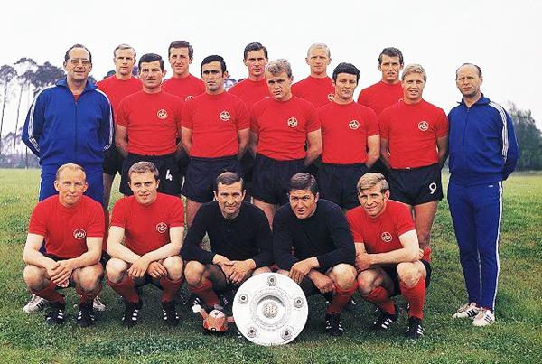 FC Nuremberg 1967/1968. (Foto: anotandofutbol.blogspot.com)