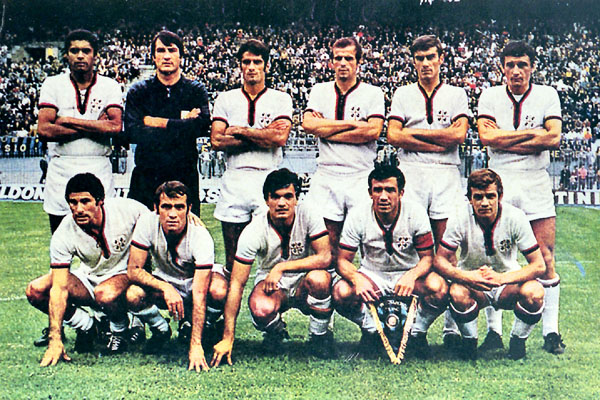Cagliari 1969/1970. (Foto: curiosando708090.altervista.org)