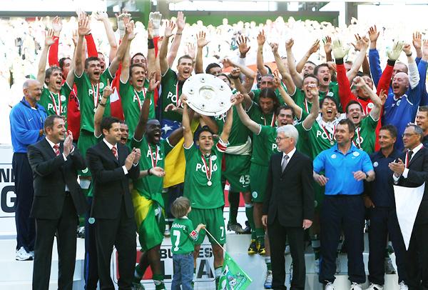 Wolfsburg 2008/2009. (Foto: AFP)