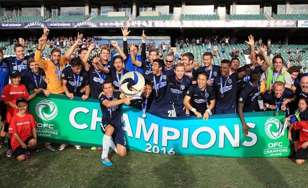 Auckland levanta su sexto título consecutivo en la Liga de Campeones de la OFC. (Foto: nzfootball.co.nz)