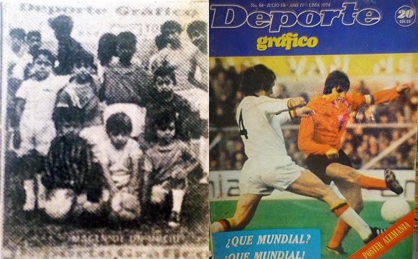 Revista Deporte Gráfico (números 1 -imagen a color no disponible- y 84)