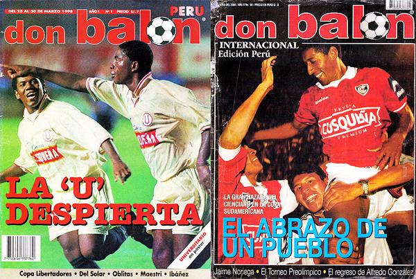 Revista Don Balón Perú (números 1 y enero 2004)
