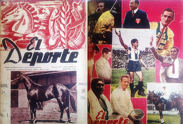 Revista El Deporte (números 1 y 232)