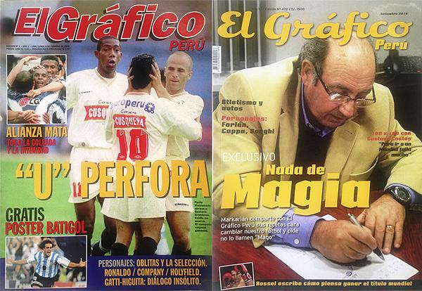 Revista El Gráfico Perú (números 1 y 470)