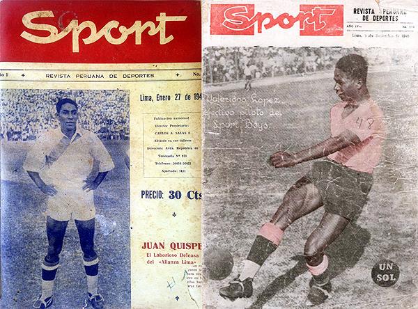 Revista Sport (números 1 y 184)