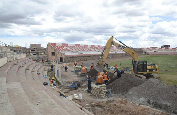 Estadio Guillermo Briceño Rosamedina (Foto: Gobierno Regional de Puno)