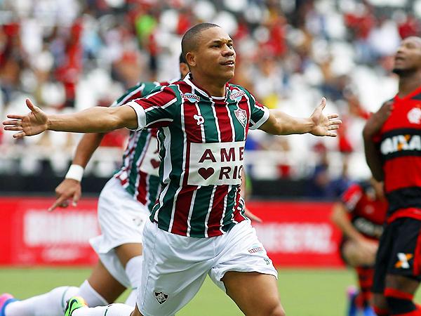 Wellington Silva. (Foto: prensa Fluminense)