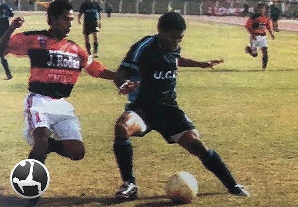 Ricardo Caldas en acción en la victoria de Vallejo sobre Flamengo a domicilio en 2003. (Foto: diario El Bocón)