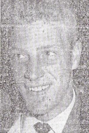 Ron Flowers fue el mejor de los ingleses (Recorte: diario La Crónica, 13/05/59)