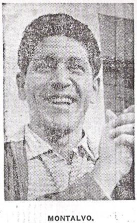 Óscar Montalvo, quien años después fuera el descubridor de Jefferson Farfán, fue uno de los mejores ante Inglaterra (Recorte: diario La Crónica, 14/05/59)