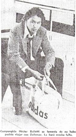 Héctor Bailetti se quedó así en el Aeropuerto Jorge Chávez luego de que le fuera negado el permiso para viajar con la delegación granate a Colombia (Recorte: diario El Comercio)