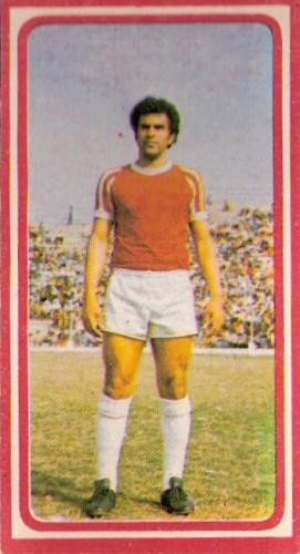 Eduardo Stucchi fue gran protagonista en la Copa Simón Bolívar al marcar de penal ante Nacional de Medellín y Portuguesa (Foto: álbum Fútbol 75, Editorial Navarrete)