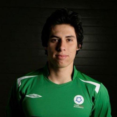Daniel Chávez Mongrut no solo es homónimo del delantero del Brujas, sino que también tiene olfato goleador (Foto: archivo Víctor Zaferson)