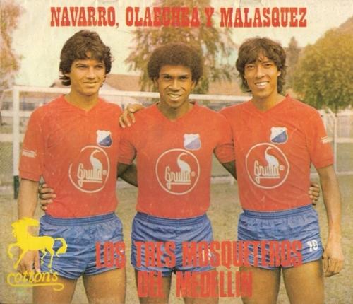 Franco, 'Mango' y el 'Flaco': los tres peruanos del DIM en 1984 (Recorte: revista Ovación)