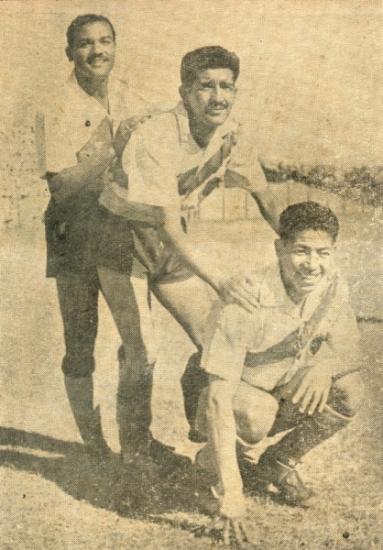 Tres de los refuerzos ediles para el Torneo de Campeones: Germán Colunga, Marcial Hurtado y Gilberto Torres (Foto: revista Equipo)