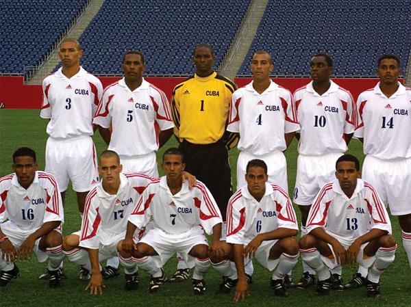 Una formación de la Cuba de Company que participó en la Copa de Oro en 2003 (Foto: concacaf.com)