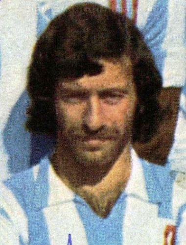 Aicart con la camiseta del Málaga, la única que vistió en Primera División española. (Foto: foromalaguistas.com)