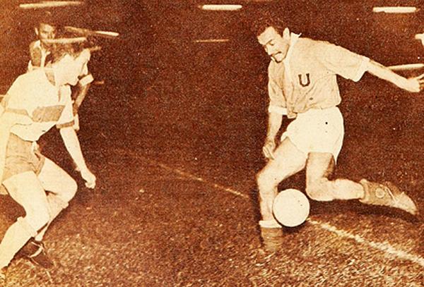 José Balbuena se convirtió en ídolo de la Universidad de Chile (Foto: Revista Estadio)