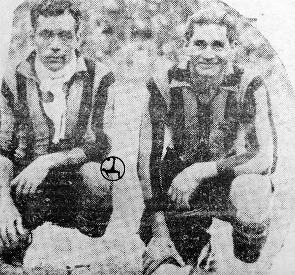 En la foto, los volantes atigrados José Bedoya y Víctor Osorio. (Foto: diario La Crónica)