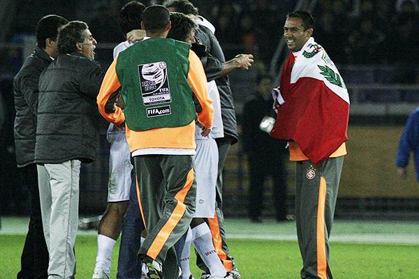 De inmediato, Hidalgo disfrutó de ganar un Mundial de Clubes. (Foto: Getty Images)