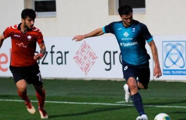 Ampuero apostó por el lejano fútbol azerbaiyano y encontró la continuidad deseada. (Foto: Prensa Zira FK)