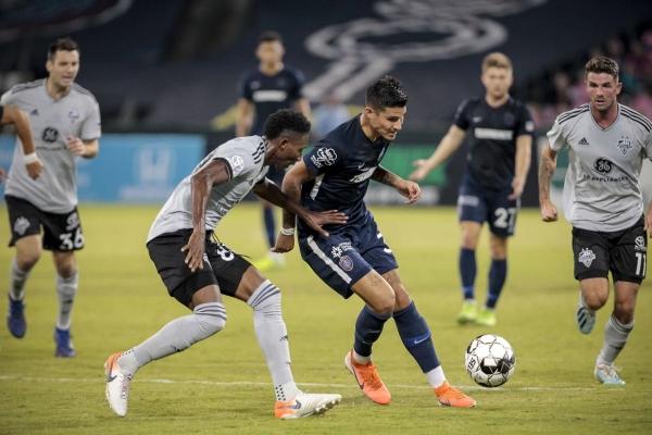 Pierre da Silva regresó a Estados Unidos luego de un fallido periplo por Brasil, y las cosas le salieron mejor en Memphis. (Foto: Prensa Memphis 901 FC)