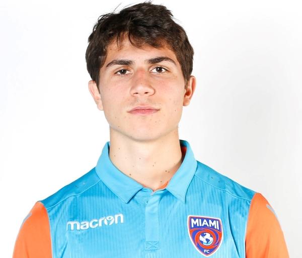 Alessandro Milesi no tuvo muchas chances en el equipo principal de Miami FC. (Foto: Prensa Miami FC)