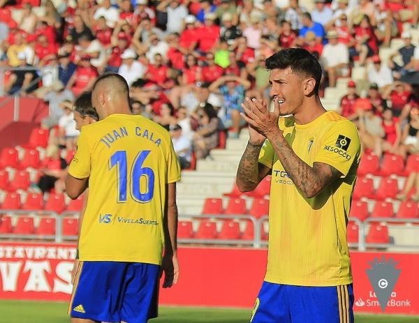 Rhyner encontró en Cádiz una chance de dar un giro a su carrera. (Foto: Prensa Cádiz CF)