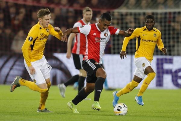 Tapia perseveró en su intento de tener espacio en Feyenoord y lo consiguió. (Foto: Prensa Feyenoord)