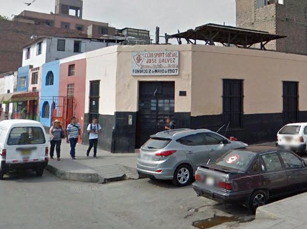 Local de Sport José Gálvez en La Victoria. (Foto: Google Street View)