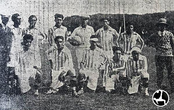 En el Campeonato Nacional 1928, además de selecciones departamentales, se sumaron escuadras provinciales como la de Canta. (Recorte: diario La Crónica)
