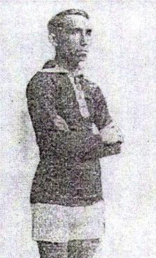 El golero Enrique Álvarez fue otro de los protagonistas de la inolvidable campaña de 1930 para el equipo porteño. (Foto: libro 'Atlético Chalaco - Libro del Centenario', Eugenio Hernández Carreño)