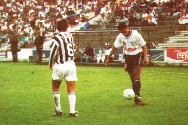 Uno de los resultados más impactantes de Ciclista Lima en la temporada 1994: la victoria por 1-3 ante Alianza Lima en el mismísimo Matute (Recorte: revista Estadio)