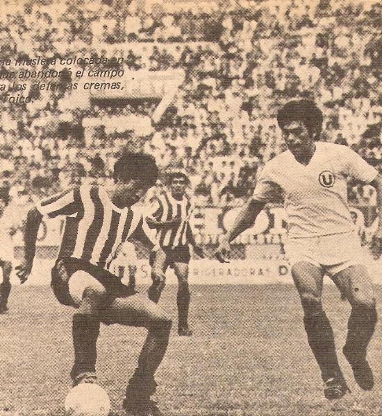 Uno de los partidos más complicados de la 'U' en toda la campaña fue ante Unión Huaral, con quienes cayeron por 1-2 en cotejo en el que se lució un atrevido 'Pedrito' Ruiz con las sedas naranjeras (Recorte: revista Ovación)