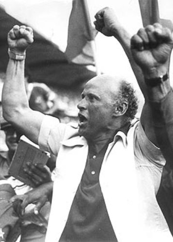 Una de las pocas escenas de euforia del habitualmente sereno Gabriel Ochoa Uribe (Foto: elpais.com.co)