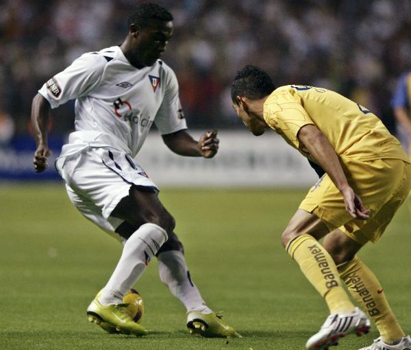 Guerrón, un ídolo en ciernes no solo para la Liga, sino para todo el fútbol ecuatoriano (Foto: lasnoticiasmexico.com)