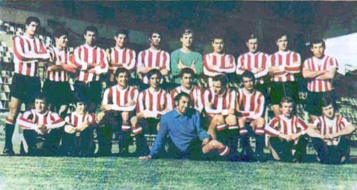 El Estudiantes de 1968, año en que alzó por primera vez el título continental (Foto: taringa.net)