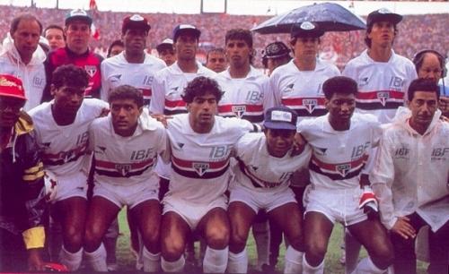 El equipo que en 1991 consiguió el primer título de Telé Santana en tienda tricolor: el del Brasileirao (Foto: tricolornaweb.com)