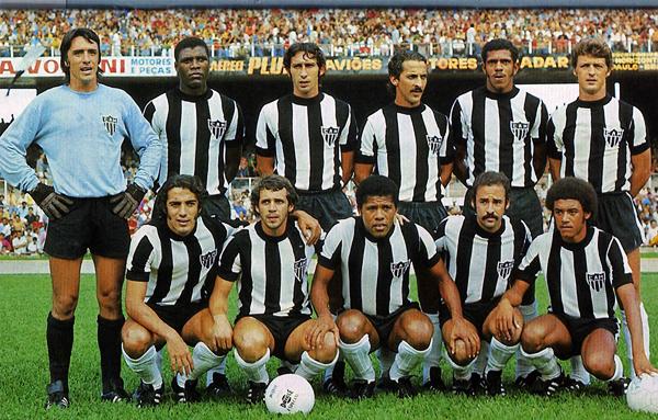 Una de las formaciones que en 1971 presentó Atlético Mineiro (Foto: imortaisdofutebol.com)