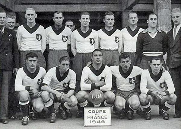 Además de la liga, Lille ganó la copa francesa en 1946 (Foto: losc.fr)