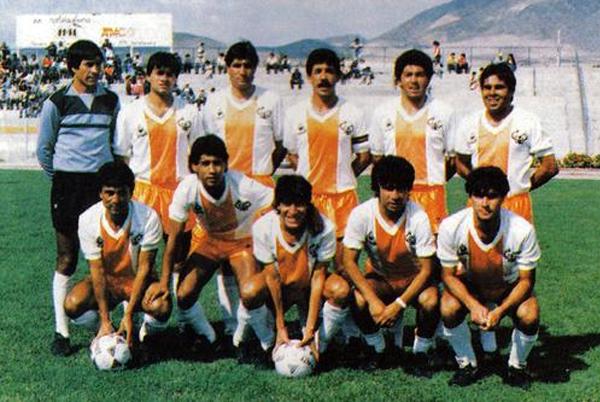 Un once del primer gran Cobresal, el que en los años ochenta asombró por su protagonismo y un gran goleador como Iván Zamorano (Foto: fotolog.com)
