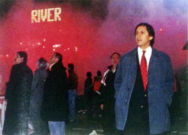 Ramón Díaz, el padre de la criatura del River multicampeón de mediados de los noventa. (Foto: revista El Gráfico)