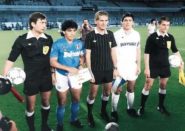 El Real Madrid se encargó de eliminar al Nápoli en la Copa de Campeones 1987/88. (Foto: foroelmito.net)