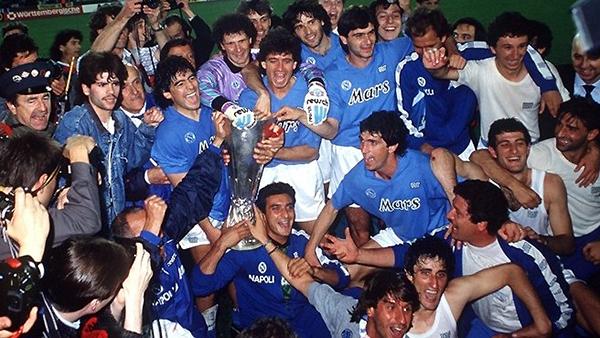 El Nápoli logró el título de la Copa UEFA 1988/99. (Foto: UEFA)