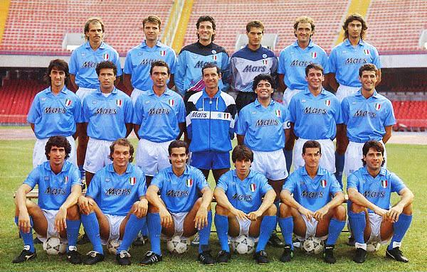 Nápoli comenzó bien la temporada 1990/91, pero no sostuvo su campaña. (Foto: anotandofutbol.blogspot.pe)