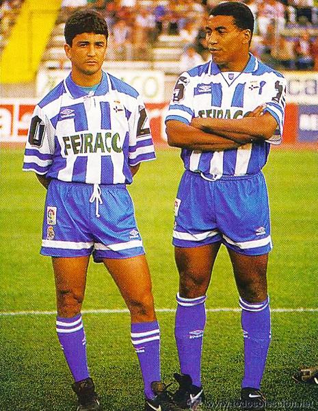 Bebeto y Mauro Silva, así comenzó a consolidarse la dinastía brasileña. (Foto: Pinterest)