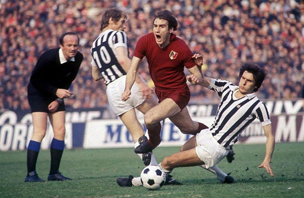 El derbi de Turín vivió jornadas de esplendor durante la temporada de 1976/77 (Foto: curiosando708090.altervista.org)