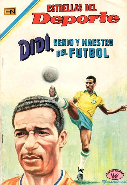 Historieta peruana que destacaba la figura de Didí, genio como jugador y querido como DT (Recorte: arkivperu.com / Editorial Novaro)