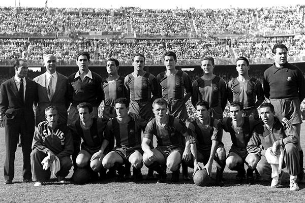 Con Ladislao Kubala como figura, Barcelona era un equipo temerario en 1953 (Foto: mundodeportivo.com)