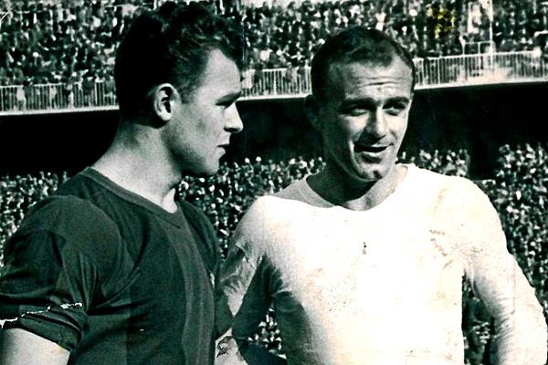 Kubala y Di Stéfano, ¿qué hubiera sido del Barcelona con esta dupla en el ataque? (Foto: planetacule.blogspot.com)